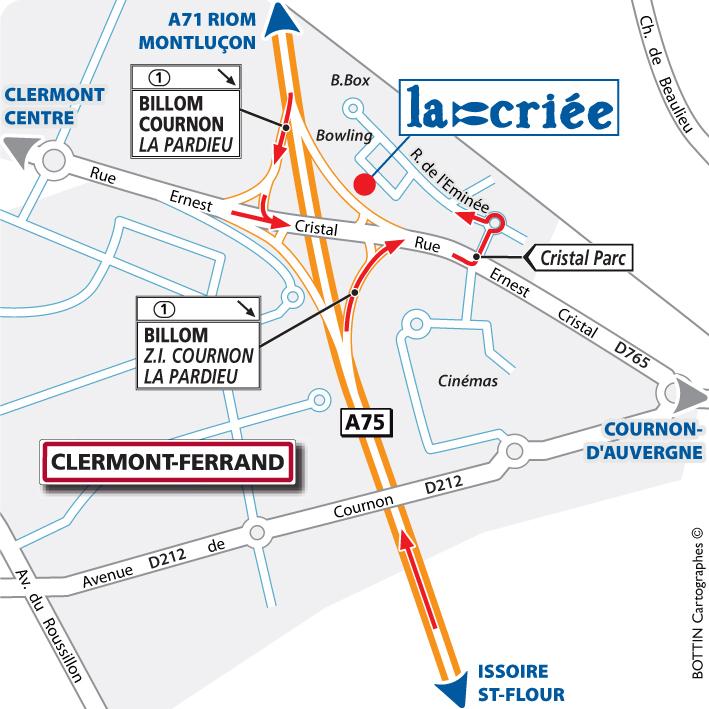 clermont ferrand 63 la cri e. Black Bedroom Furniture Sets. Home Design Ideas