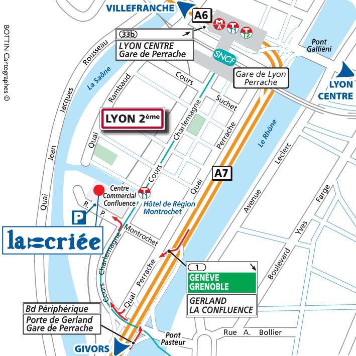 Lyon Confluence 69 La Criee